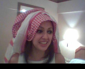 une tres belle fille palestinienne
